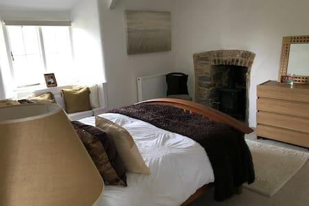 Views and superking size bed on Bodmin