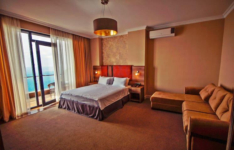 Georgia, Batumi, Sarpi - Deluxe Room with Sea View