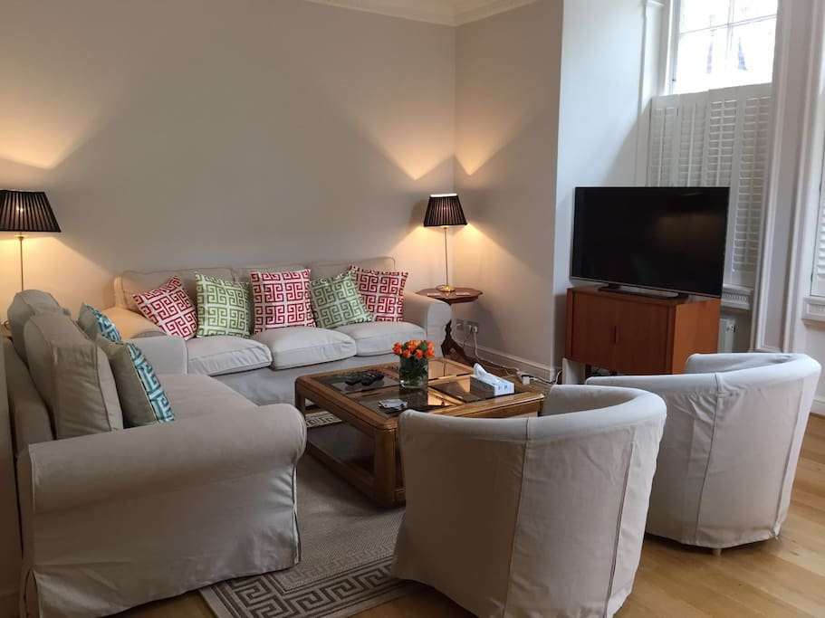 Living room .... Virgin TV