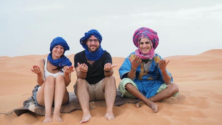 Berber Nomad House & Camel trek