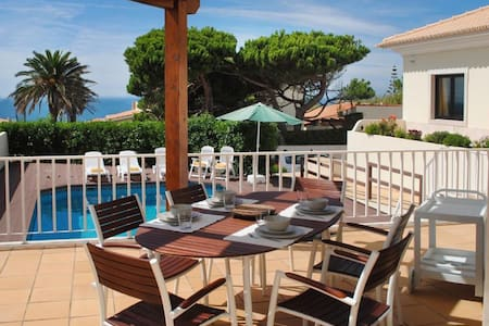 VILLA Sea View + SWIMING POOL + BBQ. Children safe - Colares