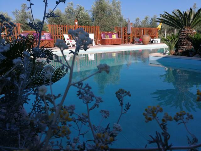 Villa EB, Attico con Terrazza camera e cameretta