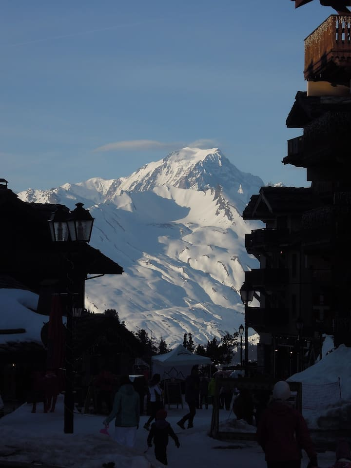 Petit Ours: Spacious Studio with Mont Blanc view