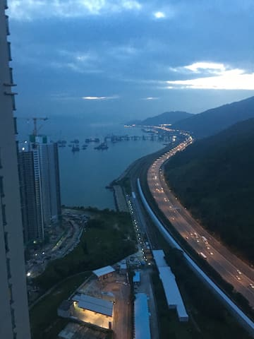 Relaxing Sea View Close to Airport Buddha Disney - Hong Kong - Byt