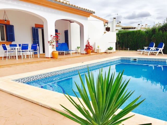 House with year round Pool, all Costs incl. - Vallgornera