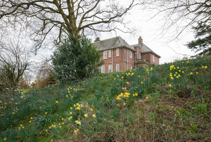Single in trad. country home + food! Near M6 Jct44 - Carlisle - Huis