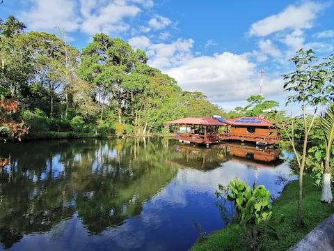 Quinta Paraíso Dorado Log Cabin
