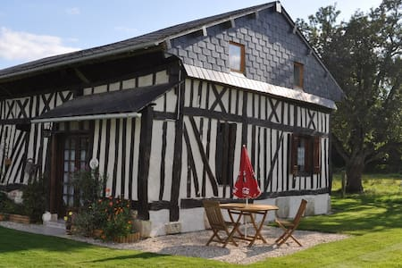 Gîte colombage entre Bernay Orbec - Saint-Aubin-du-Thenney - Casa