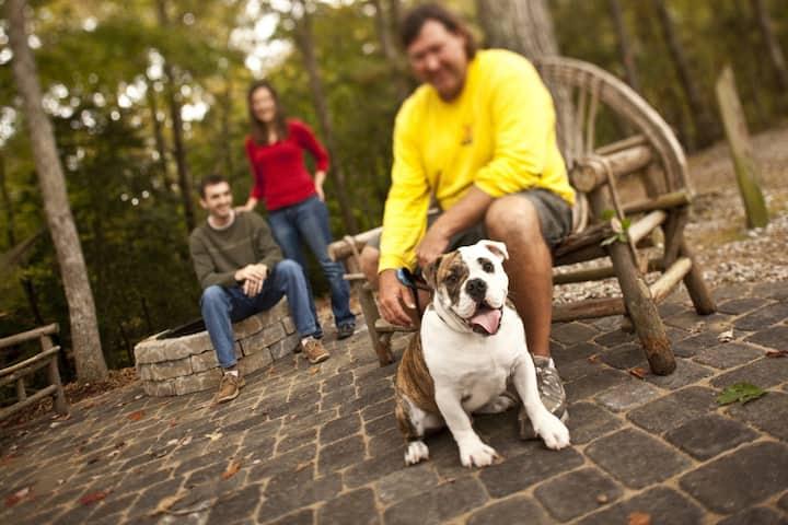 Pet Friendly Classic Camping Cabin in Williamsburg