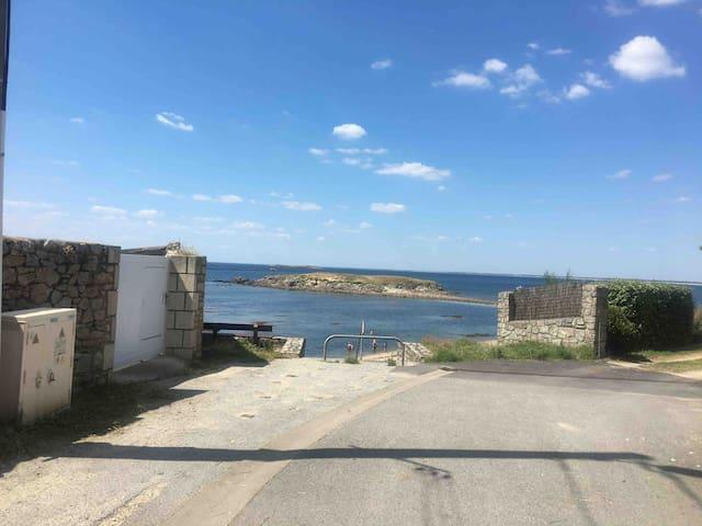 Maison de pêcheur refaite à neuf vue mer
