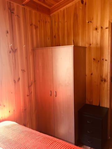 Wardrobe in main bedroom