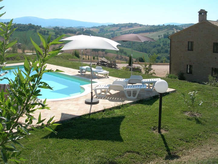 Casagatti -  farmhouse apartment with pool