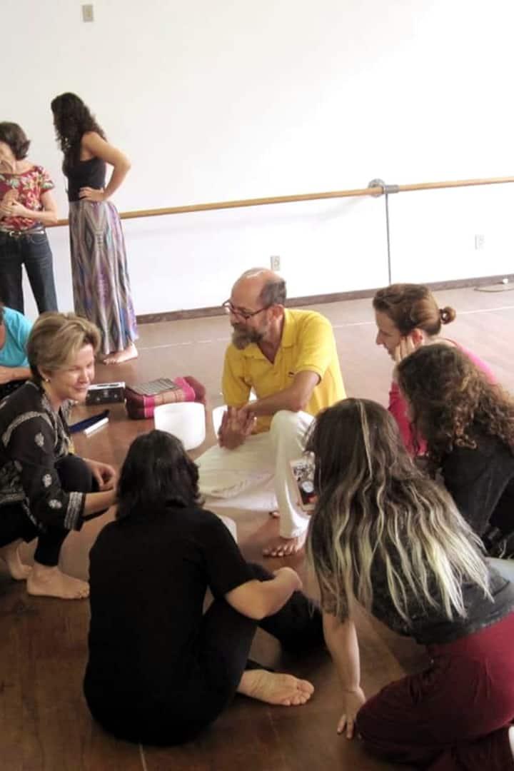 Interação com os participantes