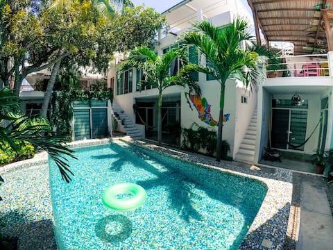 Suite verde - Casa Daikiri
