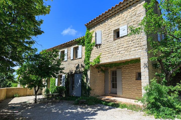 Provence - beautiful house in Suzette, Vaucluse