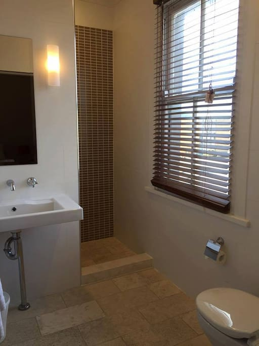 Fresh, clean ensuite bathrooms.