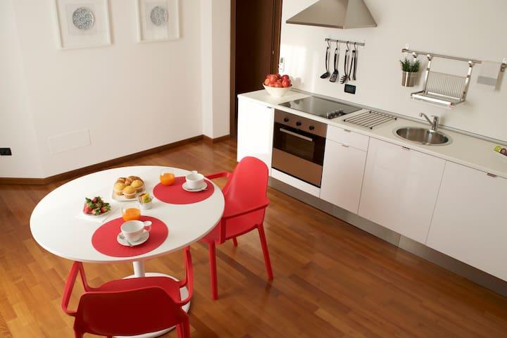 Appartamento Rubino-Bikes free use