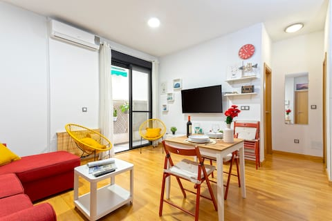 Modern&Cosy FreeParking+ Private Patio+Shared Pool