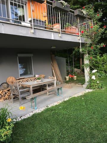 Room w/ great view near Salzburg