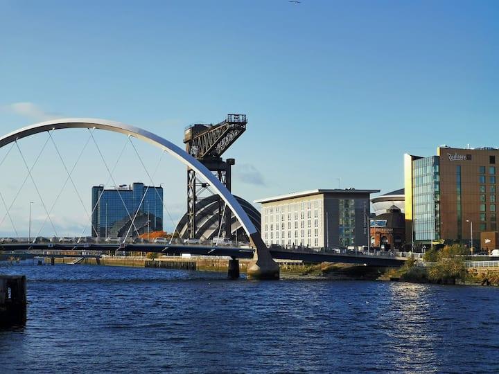 Luxury duplex apartment in heart of Glasgow.