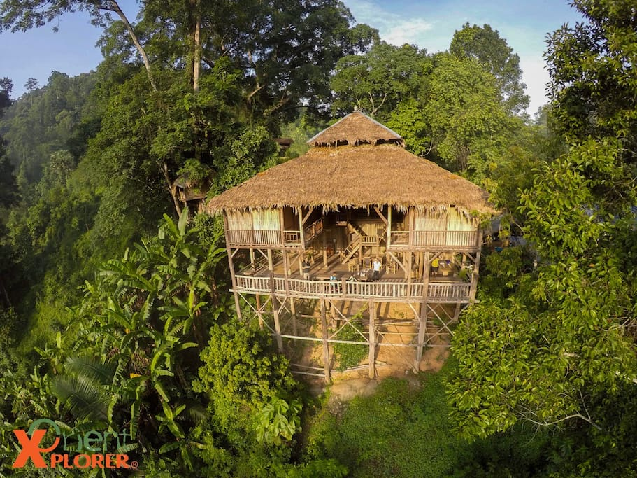 Tree House Hideaway Treehouses For Rent In Tambon