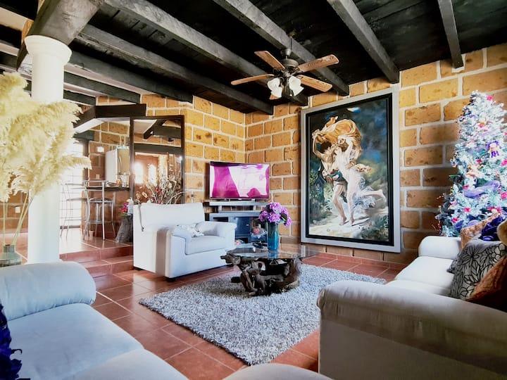 Casa completa  ,viñedos,Peña bernal &tequisquiapan