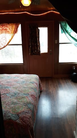 AirBySea BnB SunRoom Suite- Door Faces Old River