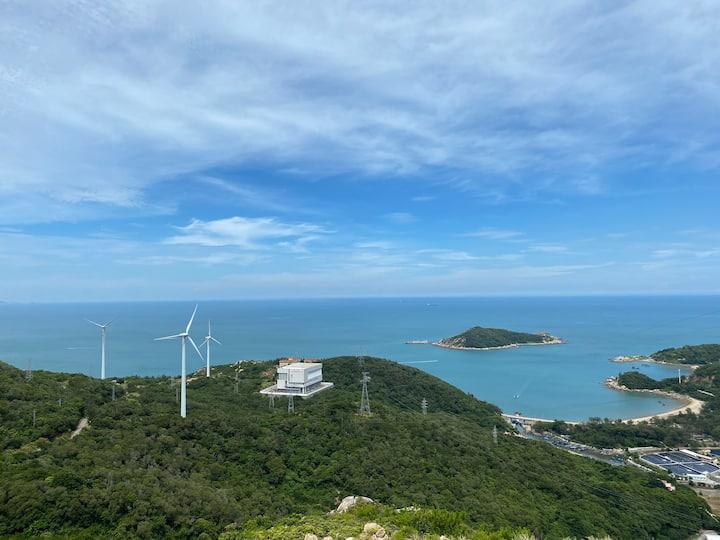 阿粥的家202/青澳湾海滩/北回归线广场/风能场