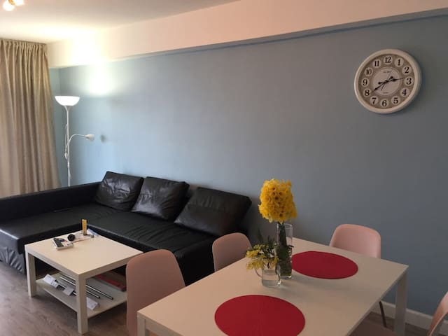 Комфортная трехкомнатная Квартира с видом на море