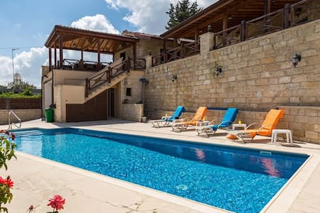 Villa Elizabeth- country villa with pool - Pachna