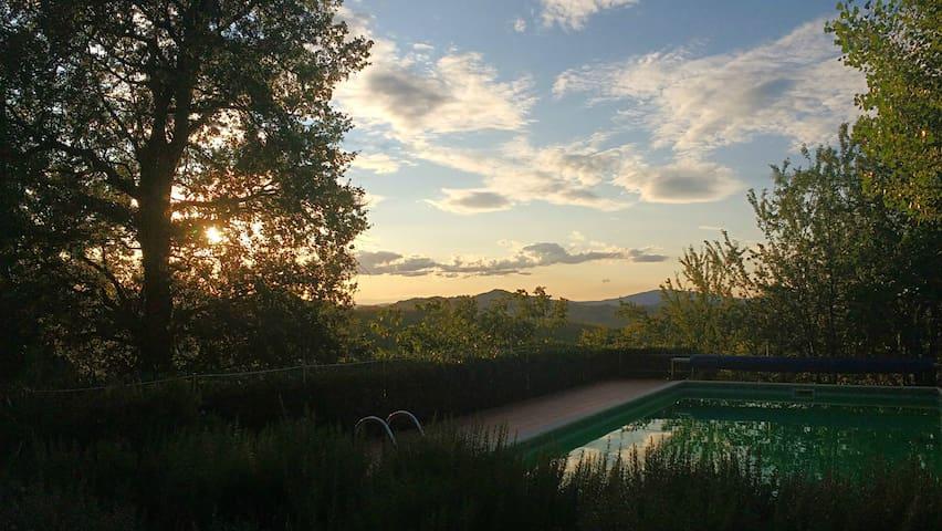 Valle Nuova: Casina dei Cavalli Swimming pool, a/c