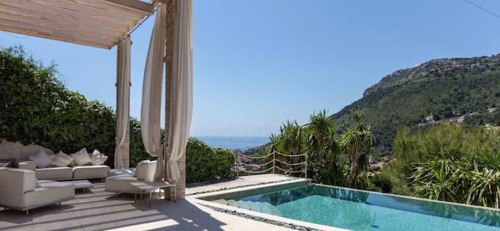 Luxury VILKA KELLY sea view 5 mts Monaco