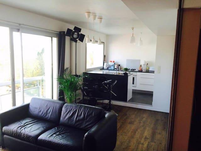 Appartement lumineux et moderne - Vannes - Lägenhet