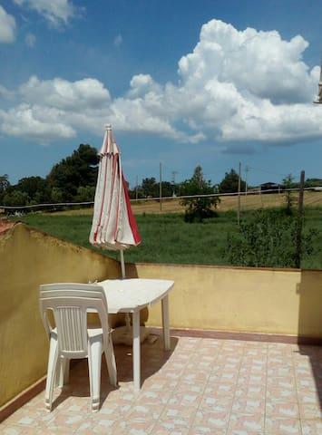 Appartamento in campagna a Magliano in toscana