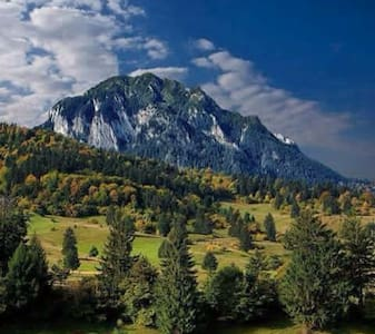 Piatra Craiului National Park secluded farm