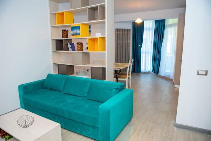 Apartament GeaniNNa Alezzi Beach Resort