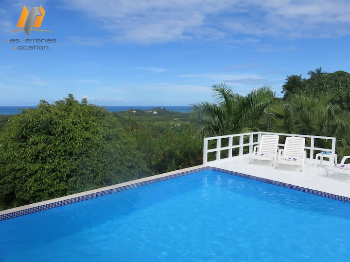 EXCEPTIONAL SEA VIEW VILLA with PRIVATE POOL