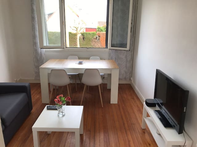 Appartement lumineux et coquet