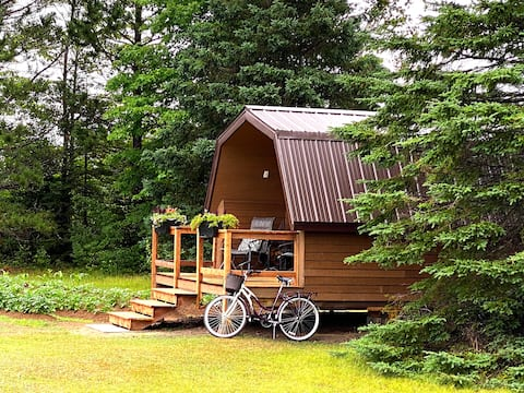 Private Cabin for your Solo Retreat * St-Ignace,NB