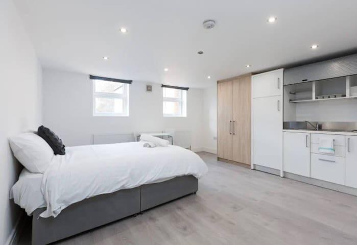 Bright & Spacious Studio Apartment in London - 1