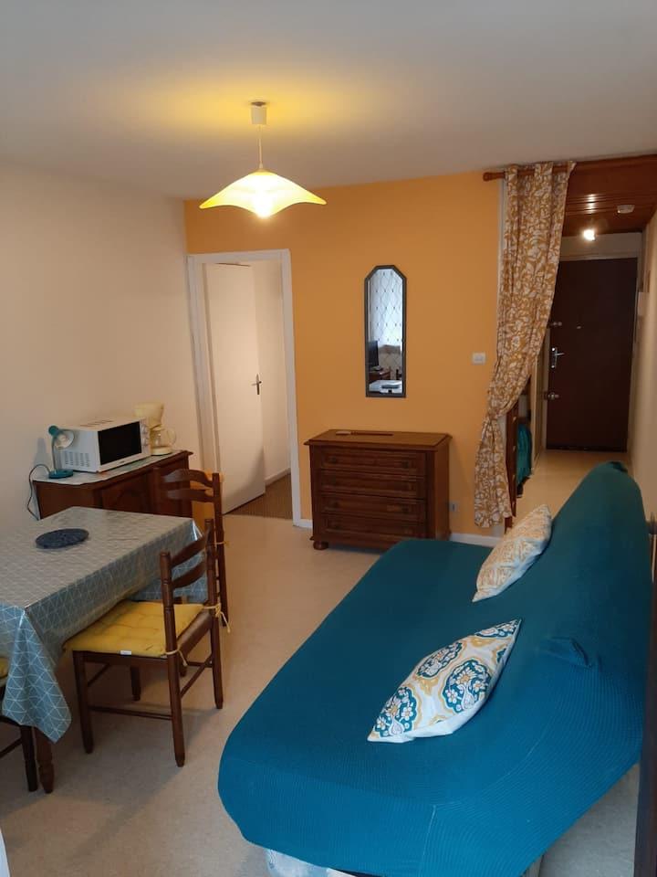 Appartement 4 couchages bien situé