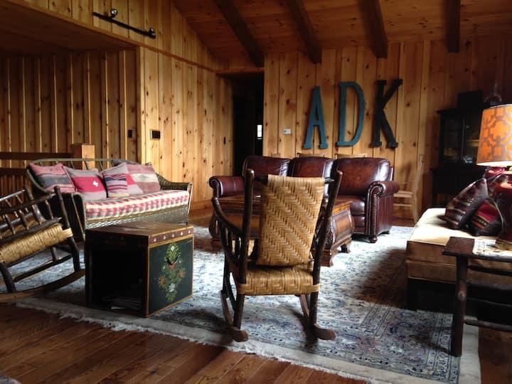 Adirondack Camp Red House