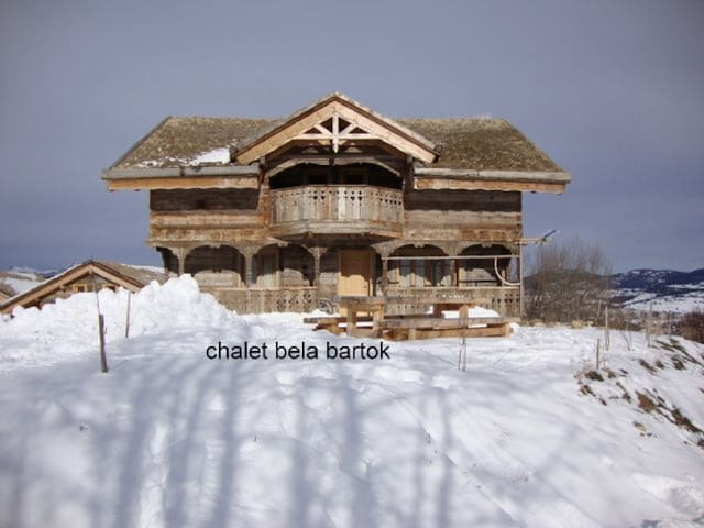 Ker Bela Bartok  -Chalet-Family-Mountain View-Ensuite with Bath