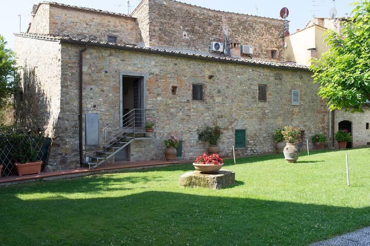 Urban Cottage in San Donato in Poggio with Swimming Pool