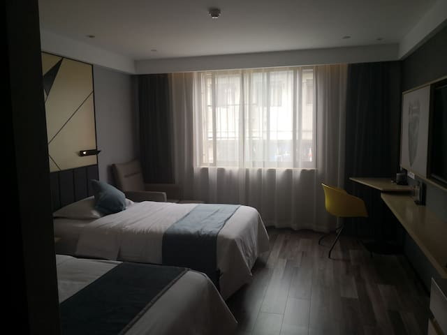 标准房,双床房