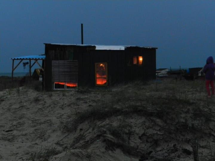 Cabaña en Cabo Polonio, Uruguay
