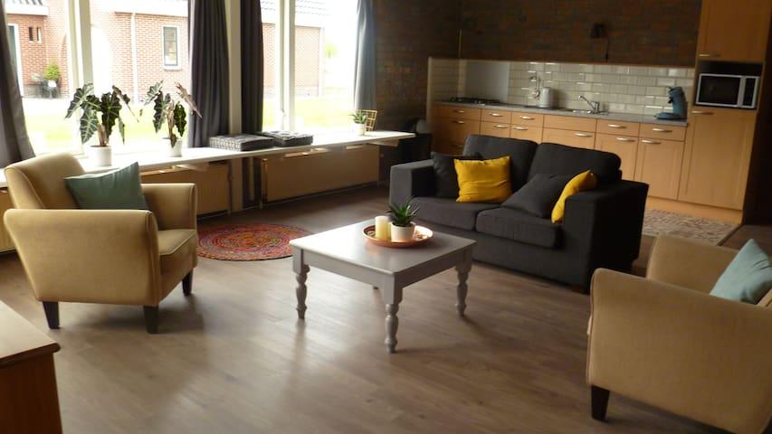 Prachtige ruime kamer, in Brantgum, Friesland - Brantgum - Flat