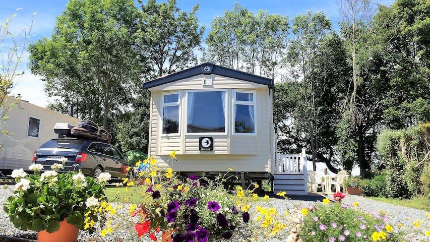 Cornish Seaside Holiday Caravan