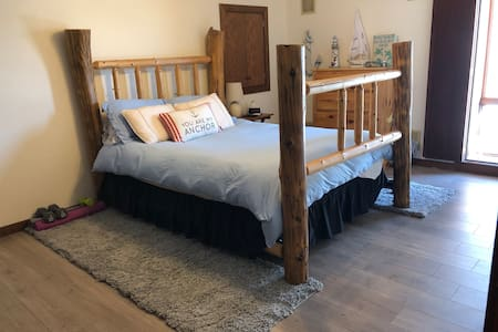 2 BR 1 Bath country setting with private wing.
