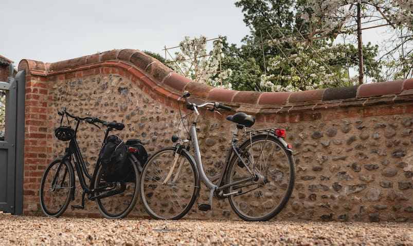Your cottage is on Cycle Route No.1